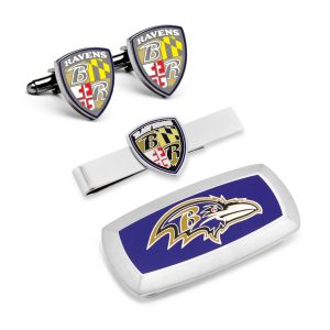 Baltimore Ravens 3-Piece Cushion Gift Set