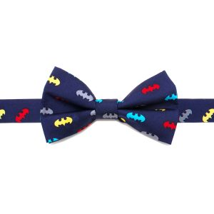 Batman Big Boys' Silk Bow Tie