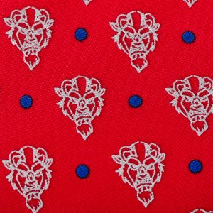 Beast Dot Red Boys Tie