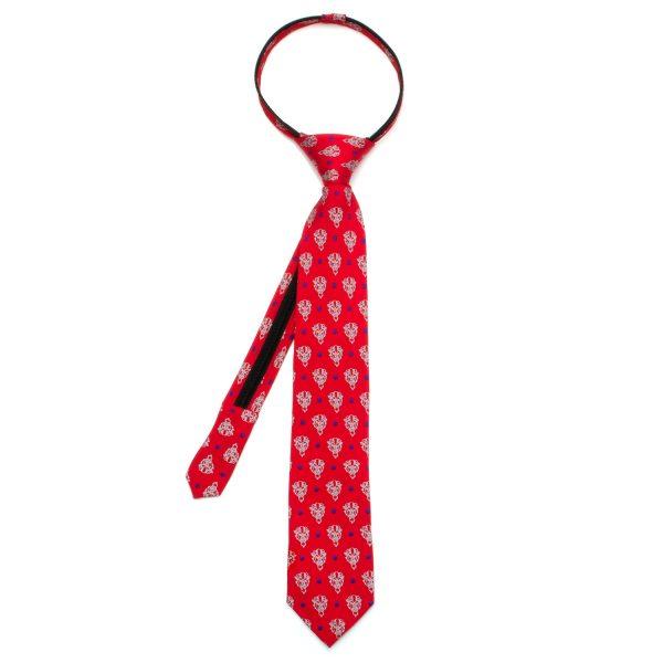 Beast Dot Red Boys Tie