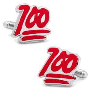 100% Emoji Cufflinks