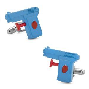 3D Watergun Cufflinks