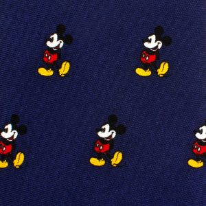 Classic Mickey Mouse Boys' Zipper Tie