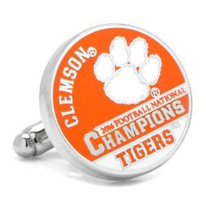Clemson University 2016 National Championship Cufflinks