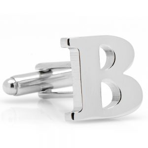 Letter B Cufflinks (per piece)
