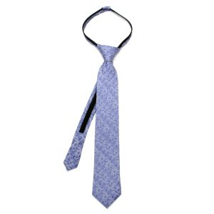 Multi Character Grey Boys Tie