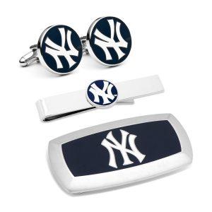 NY Yankees 3-Piece Cushion Gift Set