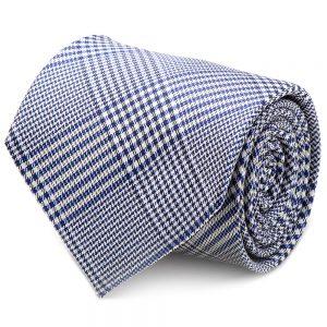 Blue Glen Plaid Silk Tie
