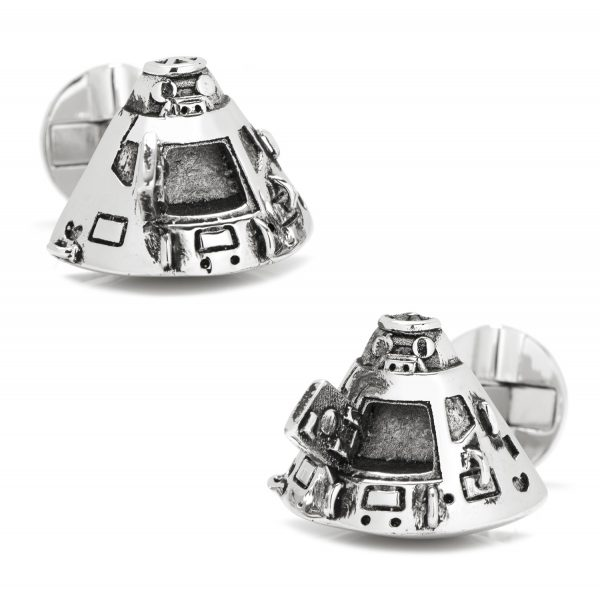 3D Return Capsule Cufflinks