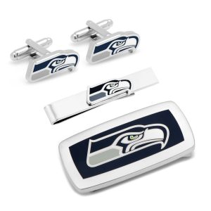 Seattle Seahawks 3-Piece Cushion Gift Set