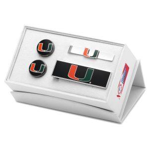 University of Miami Hurricanes 3-Piece Gift Set