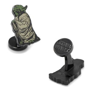 Wise Yoda Cufflinks